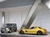 "Mercedes-Benz SLS AMG ""Desert Gold""+ G55AMG ""Edition79"""